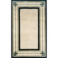Column Border Indoor Rug - 9' x 12'