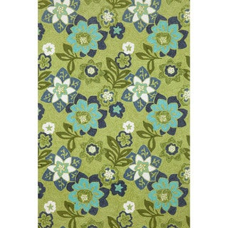 Scattered Flowers Outdoor Rug (8'3 x 11'6)