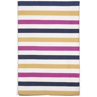 Bold Stripe Outdoor Rug (5' x 7'6)