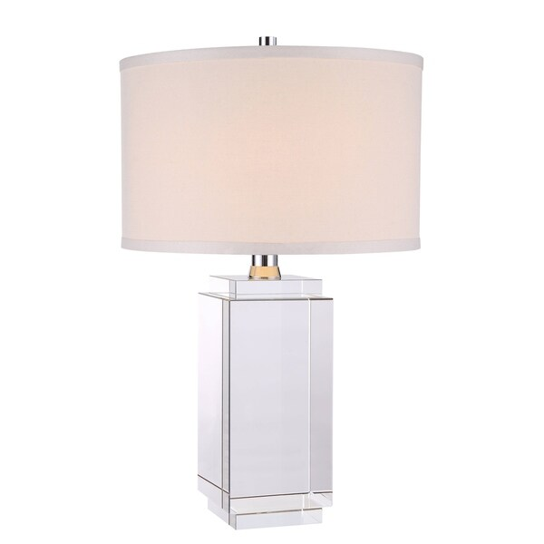 Elegant Lighting Regina Collection TL1011 Table Lamp with Chrome Finish