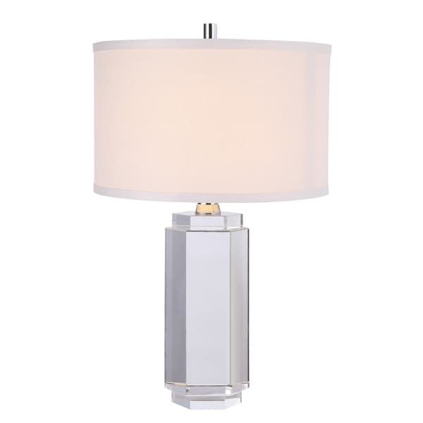 Elegant Lighting Regina Collection TL1014 Table Lamp with Chrome Finish