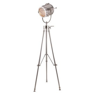 Elegant Lighting Ansel Tripod Floor Lamp with Chrome Finish
