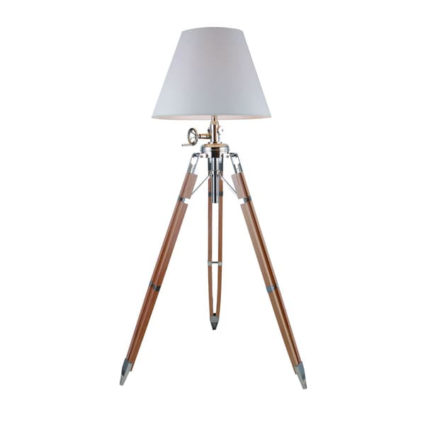elegant lighting ansel tripod floor lamp with chrome and black finish. Black Bedroom Furniture Sets. Home Design Ideas
