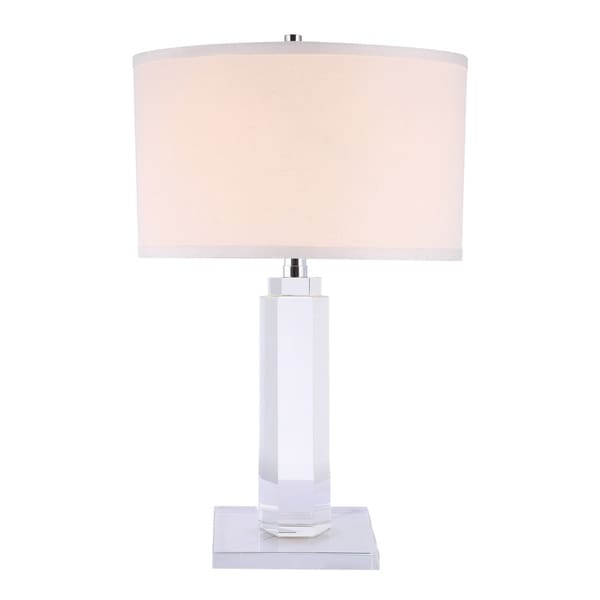 Elegant Lighting Regina Collection TL1015 Table Lamp with Chrome Finish