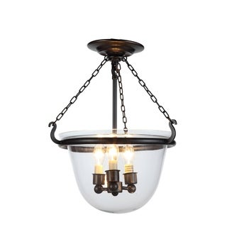 Seneca Collection 1425 Flush Mount with Bronze Finish