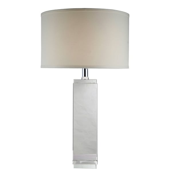 Elegant Lighting Regina Collection TL1003 Table Lamp with Chrome Finish
