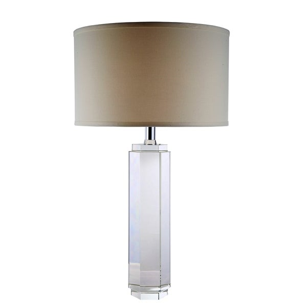 Elegant Lighting Regina Collection TL1004 Table Lamp with Chrome Finish