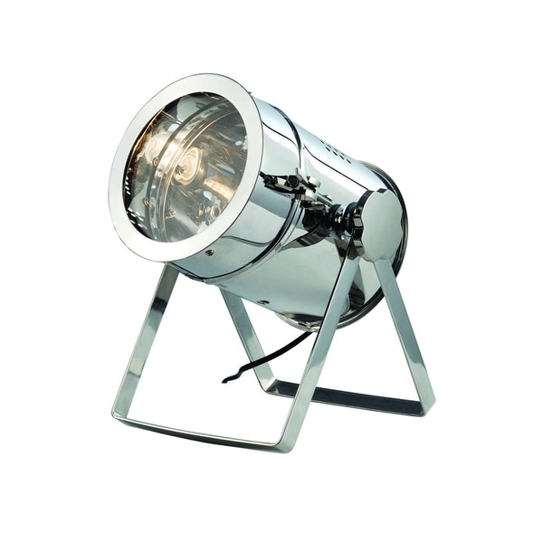 Elegant Lighting Industrial Collection TL1250 Table Lamp with Chrome Finish