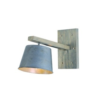 Elegant Lighting Industrial Collection Wall Lamp with Antique Finish