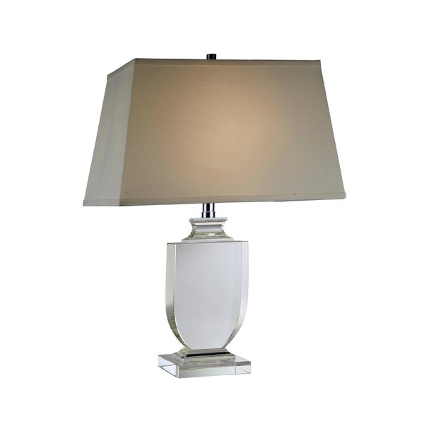 Elegant Lighting Regina Collection TL1006 Table Lamp with Chrome Finish