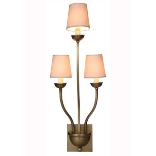 Vineland Collection 1400 Wall Lamp with Burnished Brass Finish