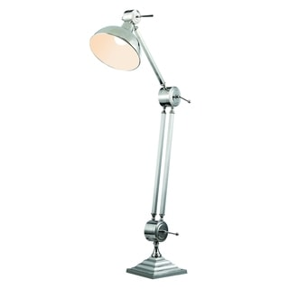 Elegant Lighting Vintage Task Floor Lamp with Chrome Finish