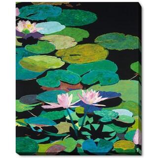 Allan Friedlander 'Blair's Magical Pond' Framed Fine Art Print