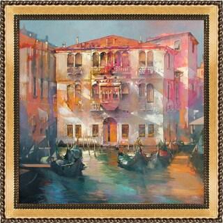 Alex Bertaina 'Ti amo Venezia' Framed Fine Art Print