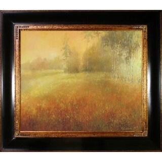 Krzysztof Lozowski 'Meadow' Framed Fine Art Print