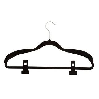 Honey Can Do Velvet Touch Wardrobe Hanging Kit 36-peice