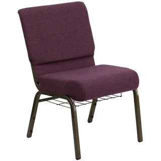 21-inch Fabric Church Chair