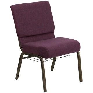 21-inch Fabric Church Chair