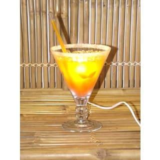 Orange Cocktail Lamp