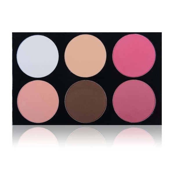 SHANY Masterpiece 6-colors Impress Contour and Blush Palette/Refill