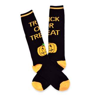 Halloween Fun Socks Women's Crew Knee High Sock Single Pair (11248-P08A)