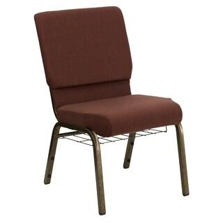 18.5-inch Fabric Church Chair