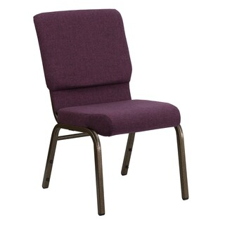 Hercules Series 18.5-inch Fabric Stacking Church Chair with 4.25-inch Thick Seat