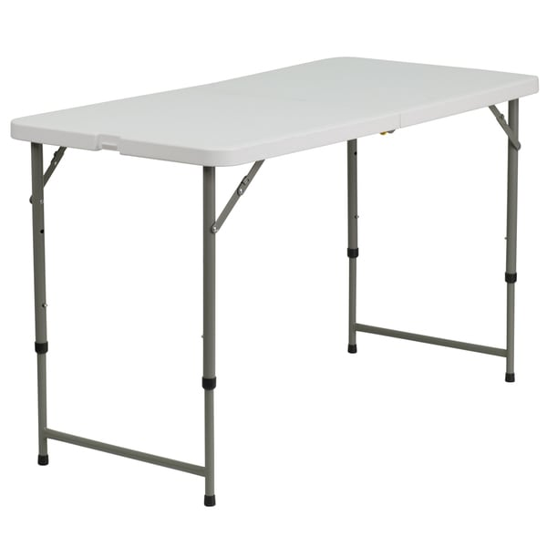 Cosco Folding Tables Adjustable Folding Table - Free Shipping Today - Overstock.com ...