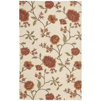 Rug Squared Sea Breeze Ivory Accent Rug