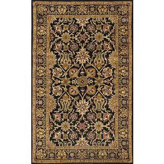 ABC Accents Persian Garden Black Wool Rug
