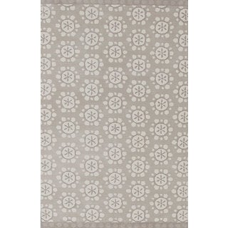 ABC Accents Camel Ivory Wool Rug