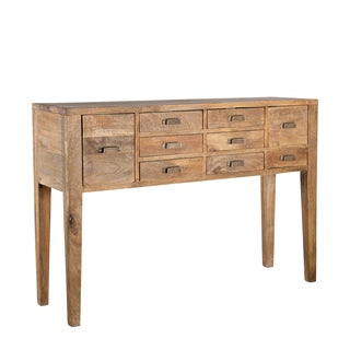 Modern Mango Wood Console Table