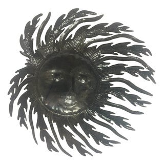 Handmade Blowing in the Wind Steel Wall Decor (Haiti)