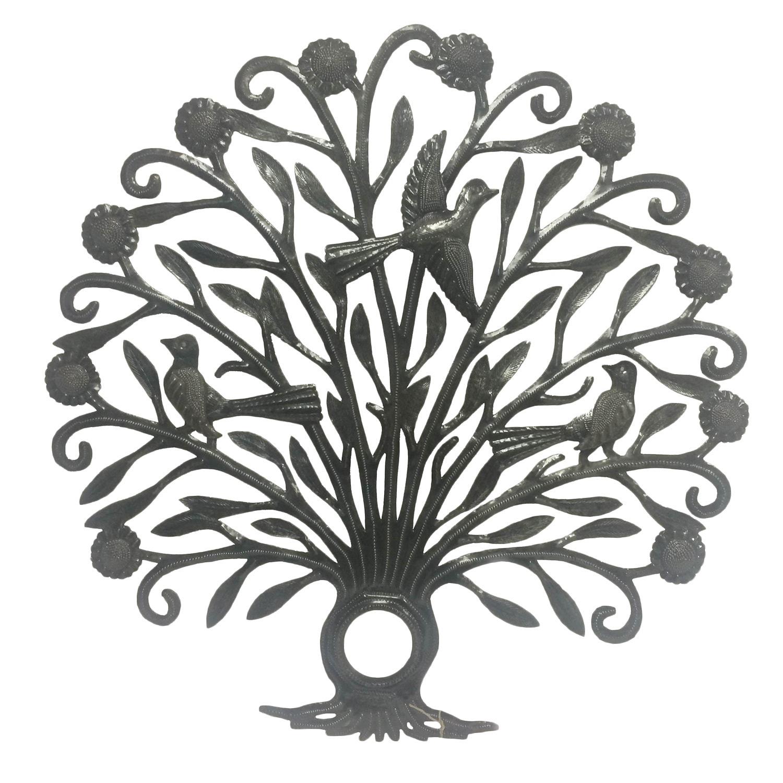 SEAICH Handmade Plumage Tree of Life (Haiti) (Plumage Tre...