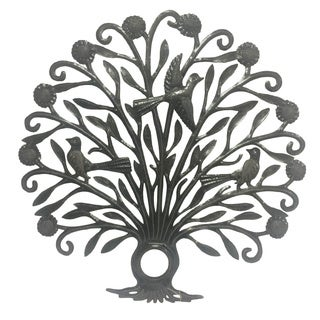 Handmade Plumage Tree of Life (Haiti)