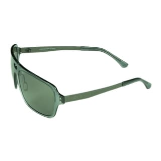 Serengeti Men's 'Nunzio' Crystal Dark Grey Sunglasses