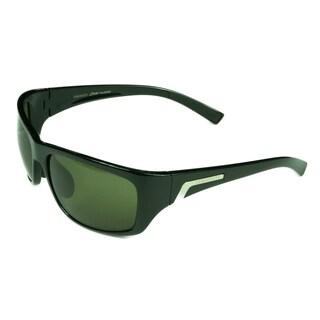 Serengeti Men's 'Orvieto' Black Sunglasses