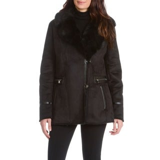Women's Faux Shearling Short Coat