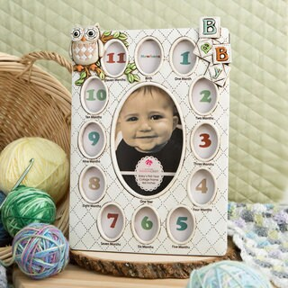 Baby's First Year Collage Frame
