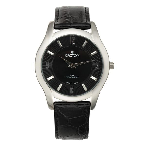croton black single men Find great deals on ebay for croton watches  croton men's ca301247ssbk aquamatic quartz  croton men's ca301295ttbk quartz date black bezel two-tone .