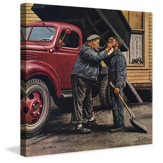 Stevan Dohanos 'Speck of Coal' Marmont Hill Painting Print on Canvas