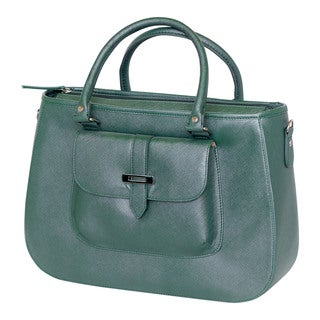 Tajio Women's Green Simulated Tote Bag