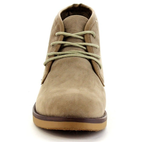 Soft Lace-up Chukka Boots - Overstock