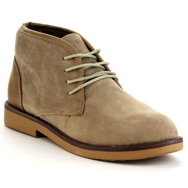 BELLA MARIE MARCY-11 Women's Soft Lace-up Chukka Boots - Free ...