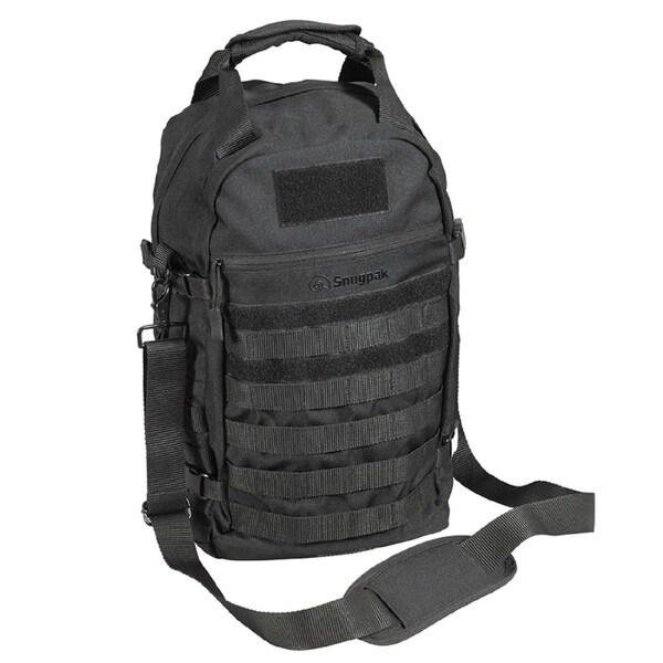 Snugpak Squadpak Over The Shoulder Bag, Black