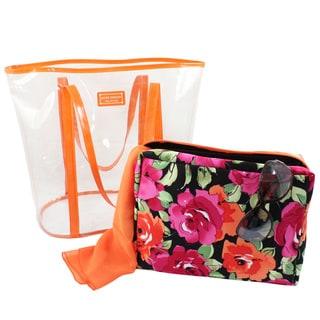 Jacki Design Tropicana Extra Large 2-piece Tote Bag Set