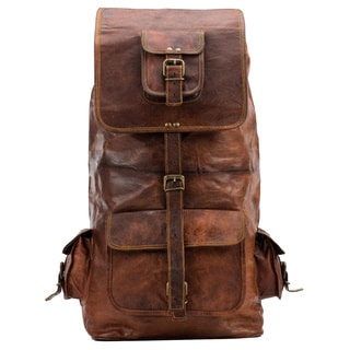 Satch and Fable TRVSCK 16 Leather Back Pack Travel Sack