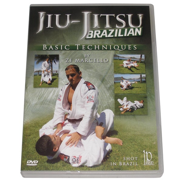 Brazilian Jiu Jitsu Basic Techniques DVD Ze Marcello chokes dislocations mma