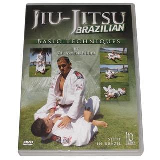 Brazilian Jiu Jitsu Basic Techniques DVD Ze Marcello chokes dislocations mma