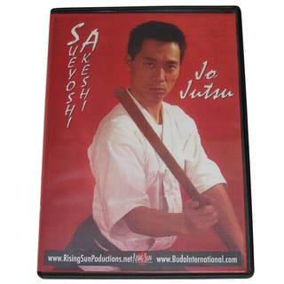 Aikido Jo Staff Jutsu DVD Master Sueyoshi Akeshi M0133 bo martial arts karate ki